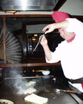 In a Japanese restaurant
